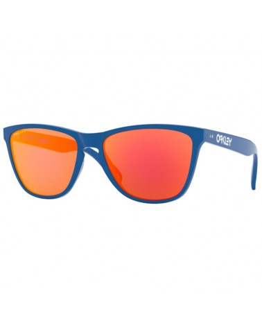 Oakley Frogskins Glasses 35TH Primary Blue/Prizm Ruby