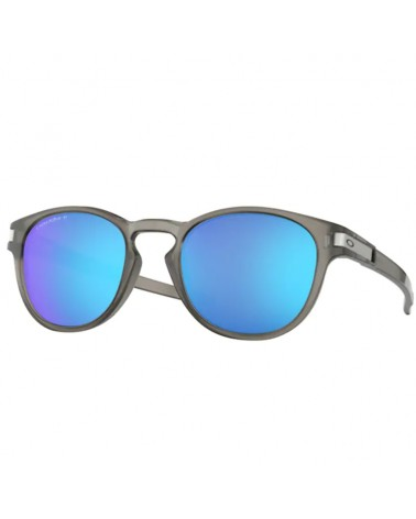 Oakley Latch Glasses Matte Grey Ink/Prizm Sapphire Polarized