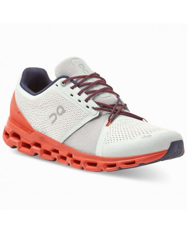 On Cloudstratus Scarpe Running Uomo, Mineral/Rust