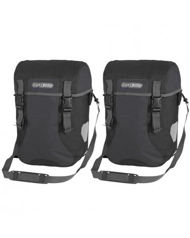 Ortlieb Sport-Packer Plus F4904 Coppia Borse Bici Posteriori 30 Litri, Granite/Black