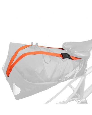 Ortlieb Cinghia di Fissaggio per Seat-Pack, Orange