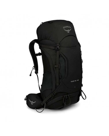 Osprey Kestrel 48 Trekking Backpack 46 L Taglia S/M, Black