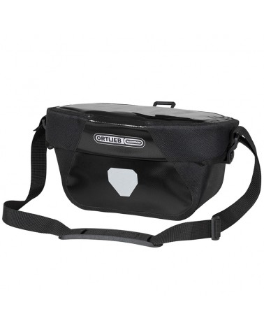 Ortlieb Ultimate 6 Classic Handlebar Bag Mounting 5 L, Black