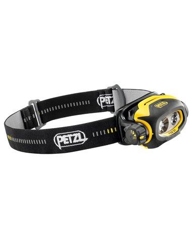 Petzl Pixa 3R Lampada Frontale, Nero/Giallo