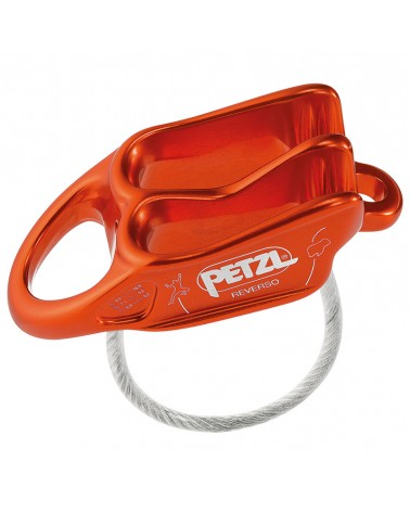Petzl Belay Device Reverso Red