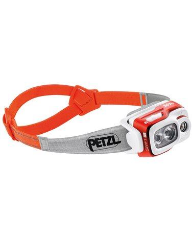 Petzl Swift RL Lampada Frontale, Arancio