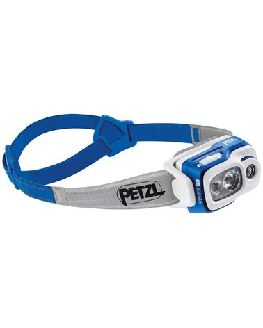 Petzl Swift RL Lampada Frontale, Blu