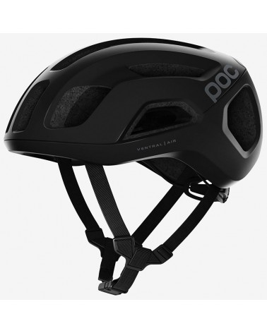 Poc Ventral Air Spin Road Cycling Helmet, Uranium Black Matt