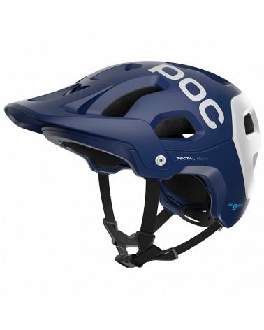 Poc Tectal Race Spin Casco MTB, Lead Blue/Hydrogen White Matt