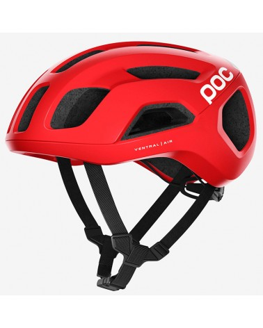 Poc Ventral Air Spin Road Cycling Helmet, Prismane Red Matt