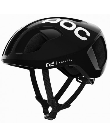 Poc Ventral Spin Road Cycling Helmet, Uranium Black Raceday
