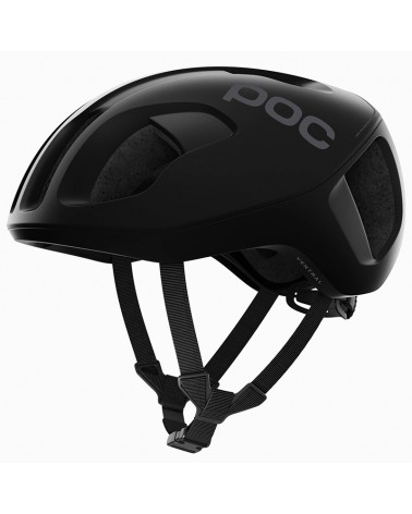 Poc Ventral Spin Road Cycling Helmet, Uranium Black Matt