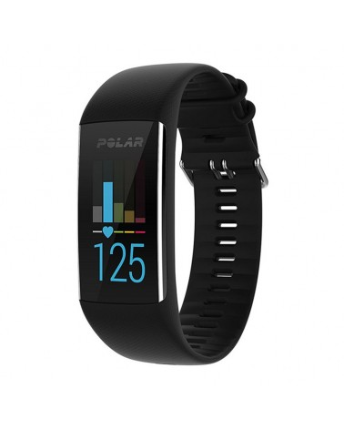 Polar A370 Smartwatch Fitness Tracker HR, Black Taglia M/L