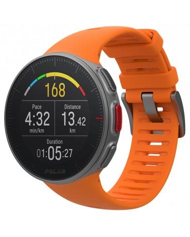 Polar Vantage V Multisport Watch GPS Wrist-Based HR Premium,  Orange Size M/L