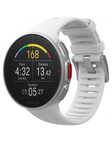 Polar Vantage V Multisport Watch GPS Wrist-Based HR Premium, White Size M/L