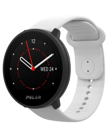 Polar Unite Waterproof Fitness Watch Wrist-Based HR and Sleep Tracking, White