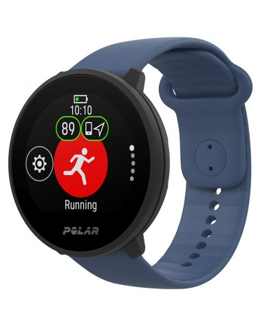 Polar Unite Waterproof Fitness Watch Wrist-Based HR and Sleep Tracking, Blue