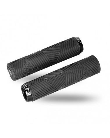 Pro Manopole Dual Lock Sport Black 32mm/132.5mm