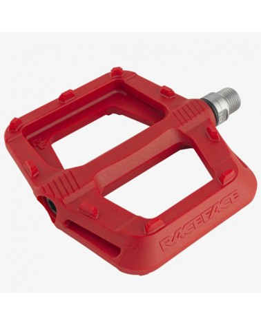 Race Face Ride MTB Pedals, Red
