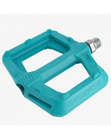Race Face Ride MTB Pedals, Turquoise