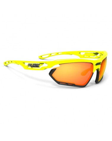 Rudy Project Occhiali Fotonyk, Yellow Fluo Gloss/Multilaser Orange
