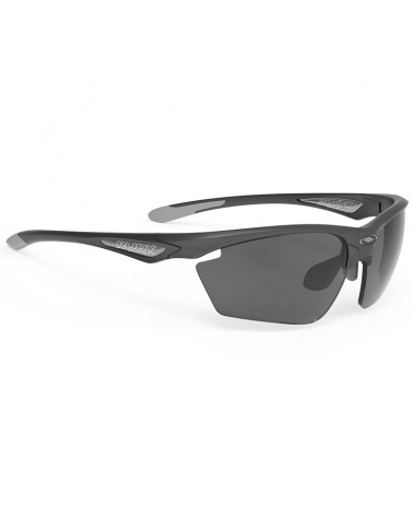 Rudy Project Glasses Stratofly, Black Anthracite/Smoke Black