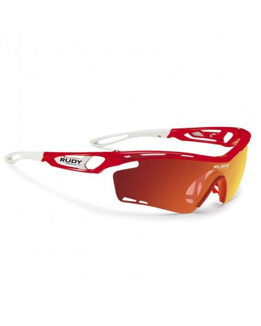 Rudy Project Occhiali Tralyx, Red Fluo/Multilaser Orange