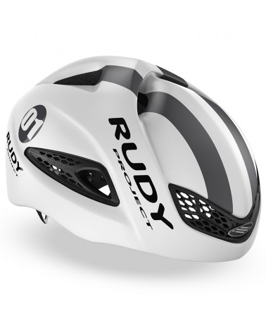 Rudy Project Boost 01 Cycling Helmet, White/Graphite (Matte)