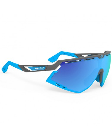 Rudy Project Defender Cycling Glasses, Pyombo Matte/Azure - RP Multilaser Blue