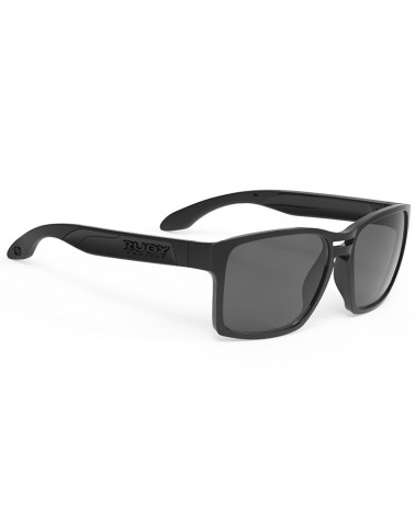 Rudy Project Spinair 57 Glasses, Black Gloss - RP Smoke