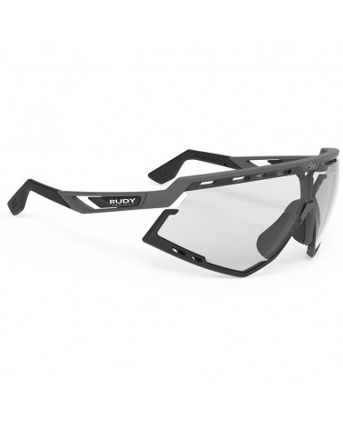 Rudy Project Defender Cycling Glasses, Pyombo Matte/Black- ImpactX Photochromic 2 Black