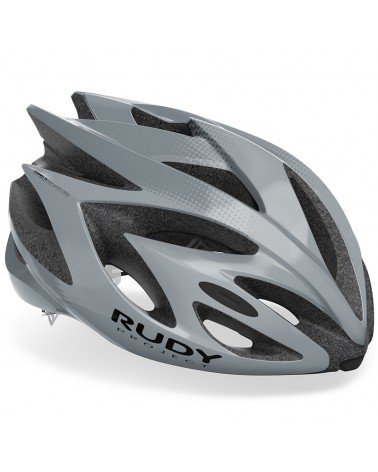 Rudy Project Rush Cycling Helmet, Grey/Titanium (Shiny)