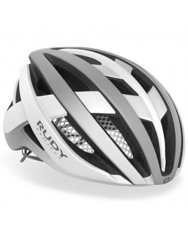 Rudy Project Venger Cycling Helmet, White/Silver (Matte)