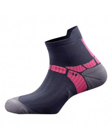 Salewa Calze Lite Training Socks, Carbon/Pinky