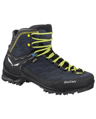 Salewa Rapace GTX Gore-Tex MS Scarponi Uomo, Night Black/Kamille