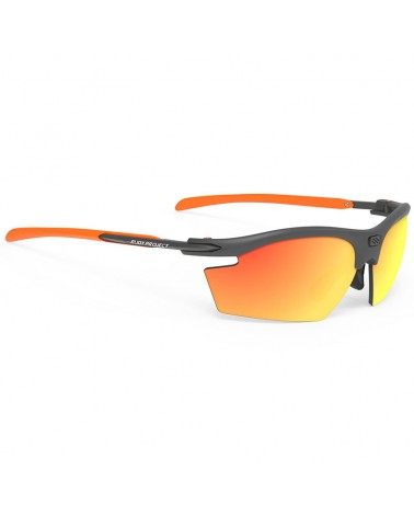 Rudy Project Rydon Cycling Glasses, Graphite - RP Optics Multilaser Orange