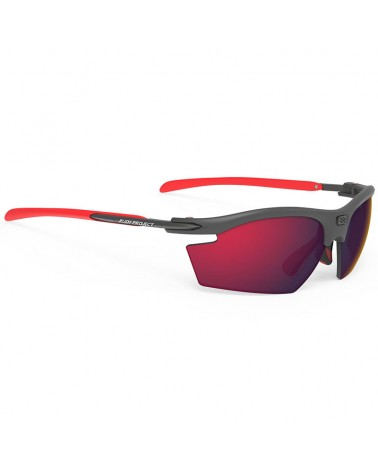 Rudy Project Rydon Cycling Glasses, Graphite - RP Optics Multilaser Red