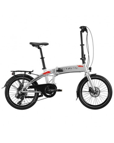 """Atala Club e-Bike Piaghevole 20"""" 7v 313Wh, Ultralight/Neon Red Matt"""