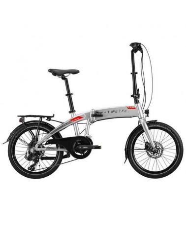 "Atala Club e-Bike Pieghevole 20"" 7v 313Wh, Ultralight/Neon Red Matt"