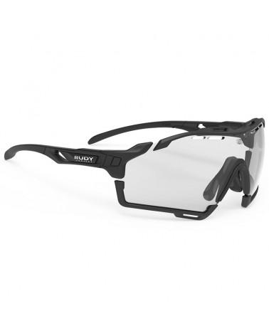 Rudy Project Cutline Cycling Glasses, Black Matte - ImpactX Photochromic 2 Black