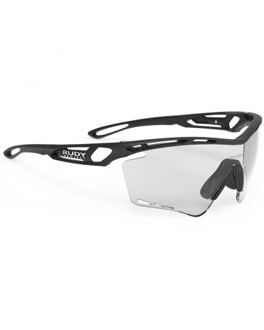 Rudy Project Tralyx XL Cycling Glasses, Black Matte - ImpactX Photochromic 2 Black