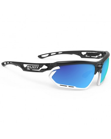 Rudy Project Fotonyk Cycling Glasses, Crystal Graphite - RP Optics Multilaser Blue