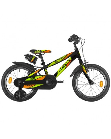 "Atala Teddy Boy 16"" 1s, Black/Neon Yellow Matt"