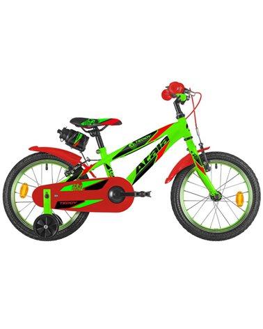 """Atala Teddy Boy 16"""" 1v, Neon Green/Red Matt"""