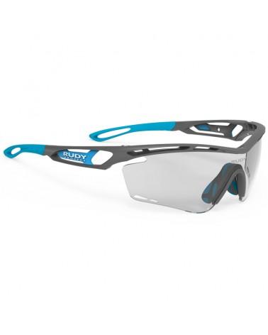 Rudy Project Glasses Tralyx, Grey Pyombo Matte - ImpactX Photochromic 2 Black