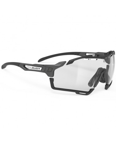 Rudy Project Cutline Cycling Glasses Graphene Collection, G-Black ImpactX Photochromic 2 Black