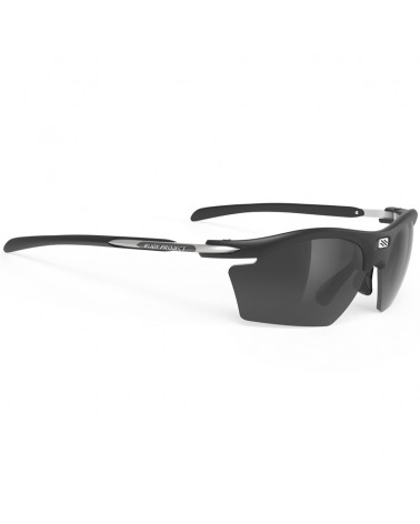 Rudy Project Rydon Slim Cycling Glasses, Matte Black - RP Optics Smoke Black