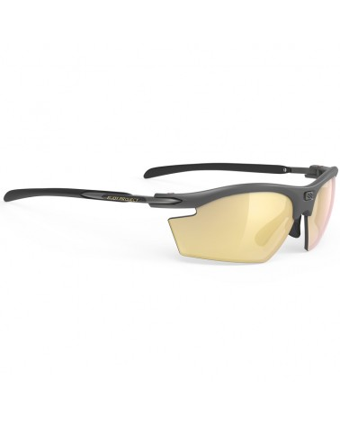 Rudy Project Rydon Cycling Glasses, Charcoal Matte - RP Optics Multilaser Gold