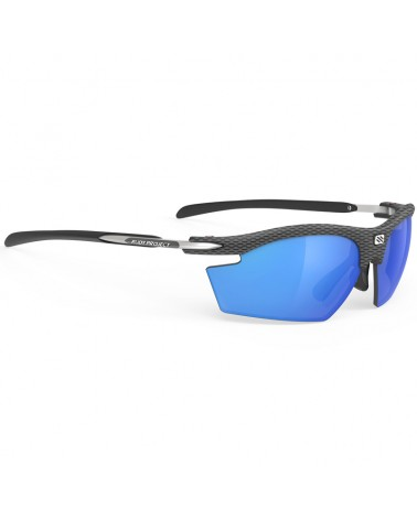 Rudy Project Rydon Cycling Glasses, Carbon - Polar 3FX HDR Multilaser Blue