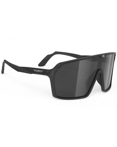 Rudy Project Spinshield Cycling Glasses, Black Matte - RP Optics Smoke Black